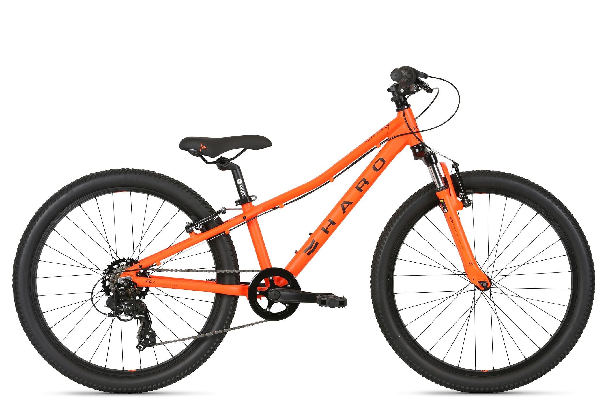 Haro Flightline 24 Bike - Orange